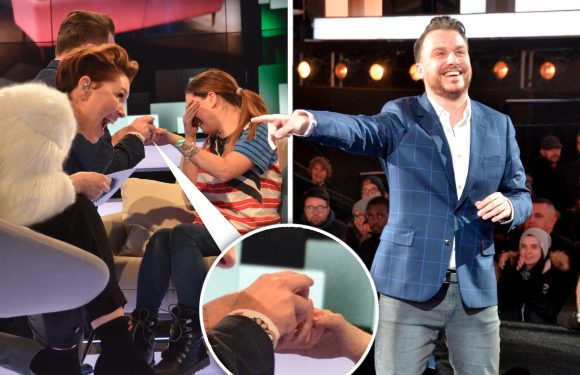 Daniel O'Reilly PROPOSES to girlfriend LIVE after being eighth evicted from the Celebrity Big Brother house