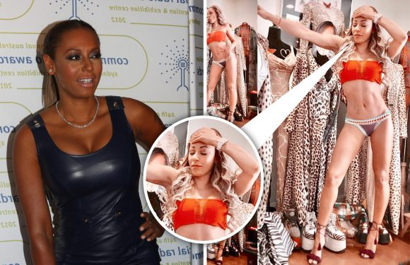 Mel B says 'I do need a tan' blasting skin-bleaching accusations in 'unrecognisable' bikini photo on Instagram
