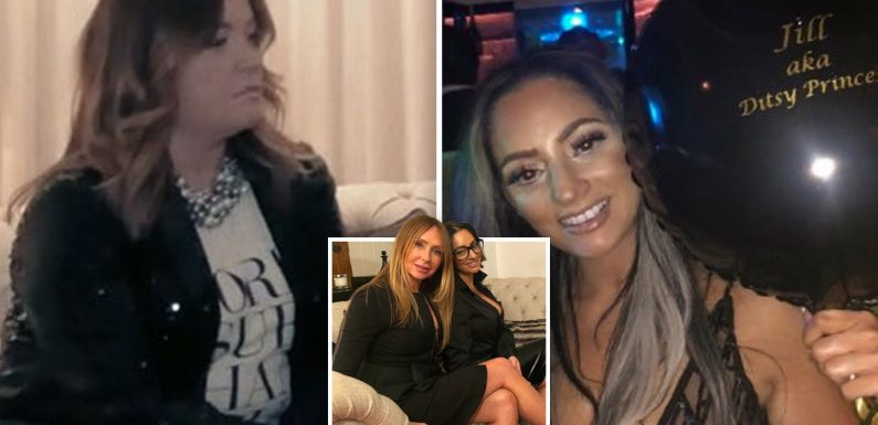 'What you see is what you get' Essex's answer to Loose Women talk 'moulding body parts' in new 'jaw-dropping' episode of Girly Night In
