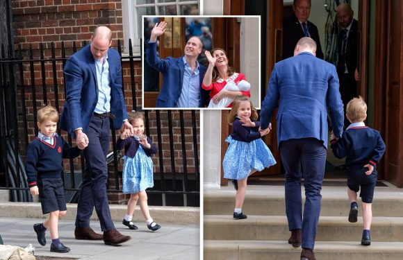 Duke and Duchess of Cambridge 'thank all staff' at St Mary's Hospital where their third child and second son was born Kensington Palace reveal