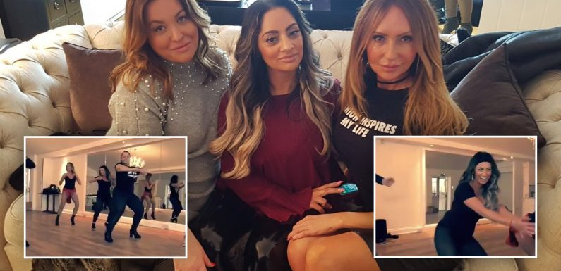 'There's no age limit for twerking!' Essex's Girly Night In cast go on NIGHT OUT as they learn how to dance like Beyoncé in latest episode of the controversial chat show
