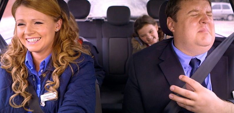 Peter Kay and Sian Gibson reveal all following the 'special improvised' unscripted episode of Car Share that aired on Monday