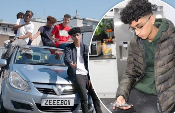 Meet the London lad, 17, who was responsible for alternative version of EO's hit single German 'In a Corsa' – how this boy from Croydon got into making music