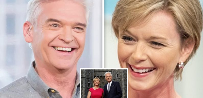 Phillip Schofield and Julie Etchingham to present Royal Wedding of Prince Harry and Meghan Markle LIVE on TV this Saturday