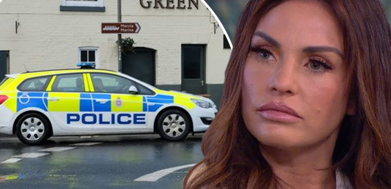 Katie Price reports herself to police after illegally driving her son Harvey to hospital appointment during her six-month driving ban