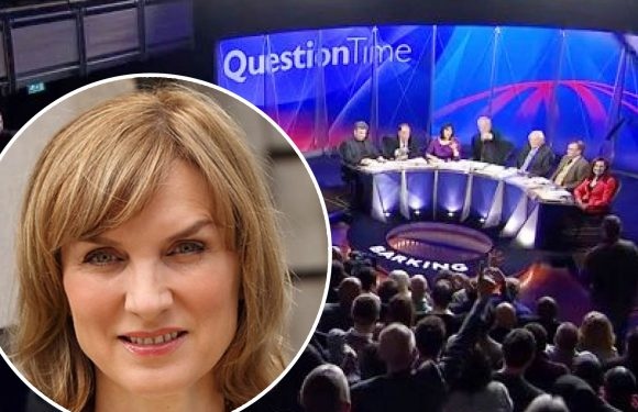 Legendary newsreader Fiona Bruce says she is 'thrilled' with her new job as BBC Question Time presenter