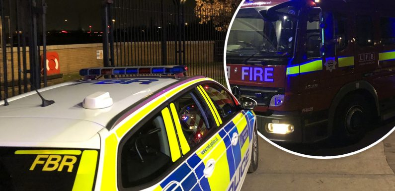 Ten-year-old boy rescued by police and firefighters using throw line after falling into East London river at night