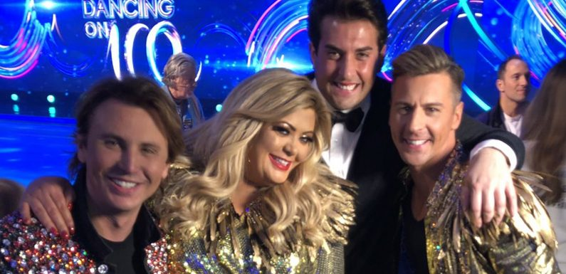 Gemma Collins' TOWIE partner James Argent says the TV star was 'absolutely brilliant' on Dancing On Ice in heart-warming Twitter post following tonight's show