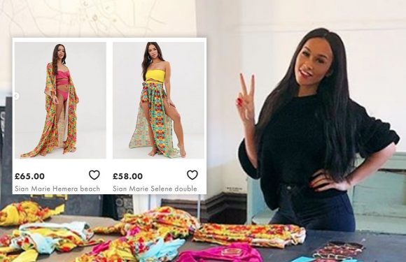 The Apprentice winner Sian Gabbidon bags deal with ASOS to stock her 'Sian Marie' swim wear range which led her to victory on TV