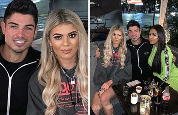 Love Island's Anton quick to defend Belle after pair reunite on night out with fellow islander Anna following shock break-up