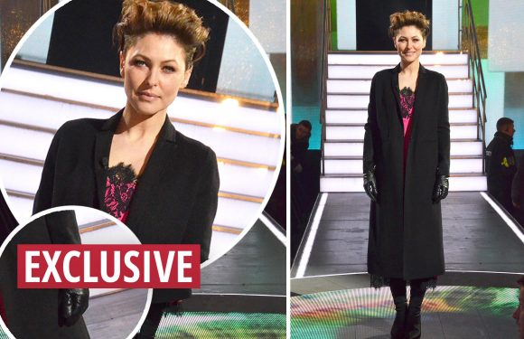CBB fans mock Emma Willis' live eviction attire – Emma's pink Alice and Olivia dress divides viewers