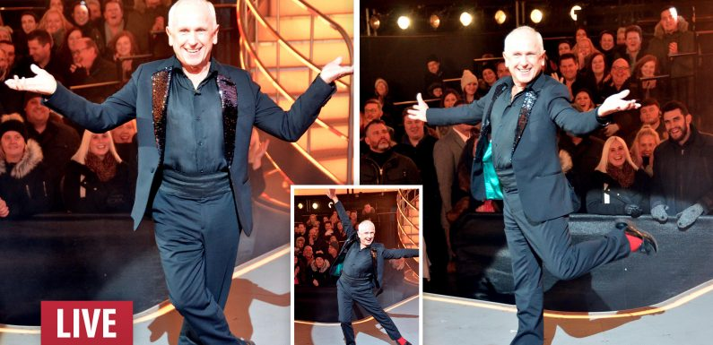 Wayne Sleep comes in fifth place during Celebrity Big Brother's final 2018