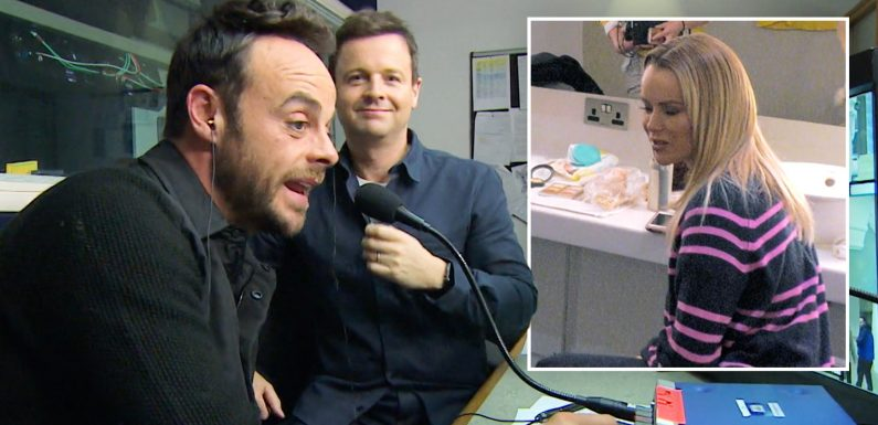 Amanda Holden left sour-faced after Ant and Dec pull off 'Mission Impossible' in the latest series of Saturday Night Takeaway