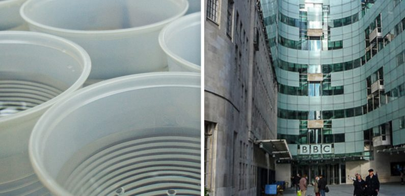 BBC bosses reveal plans to ban all single-use plastics at the corporation by 2020