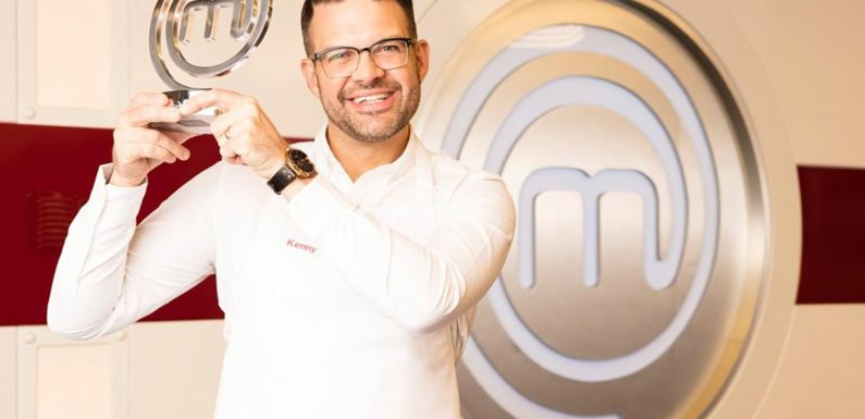 'The happiest day of my life' says Kenny Tutt who was announced as winner of BBC's MasterChef in what judges are calling 'a close final cook-off'