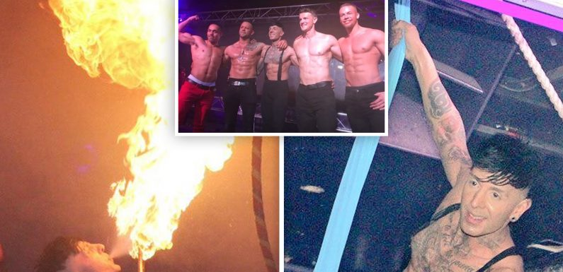 The 'UK Pleasure Boys' to go full monty to raise much-needed funds for male cancer charity – hosting 'special event' in Birmingham