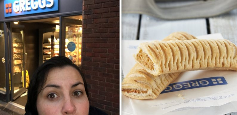 Anger and upset in parts of Britain as some 'small' Greggs stores go without new vegan sausage roll on release day