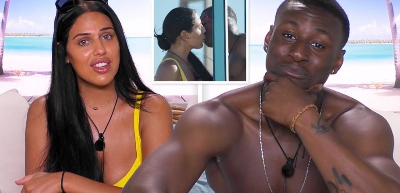 Love Island 2019: Anna and Sherif 'get cosy' as sparks fly in the first challenge of the brand new loved-up summer series on ITV2 tonight