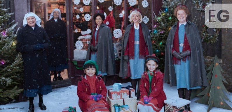 Call The Midwife festive special wins Christmas Day ratings