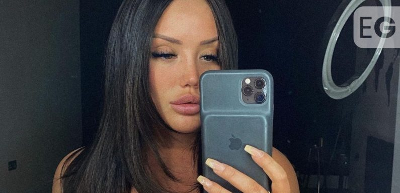 Charlotte Crosby shows off her fuller pout in Instagram ad snap
