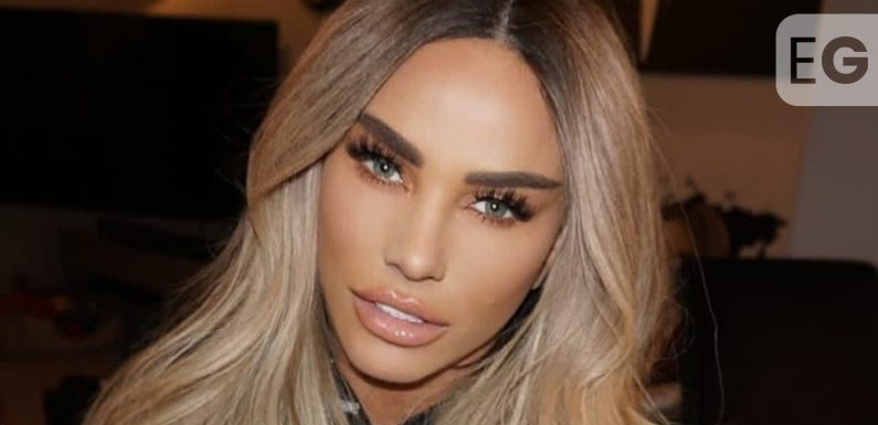Katie Price raffles off 'her hair' for just a fiver per ticket