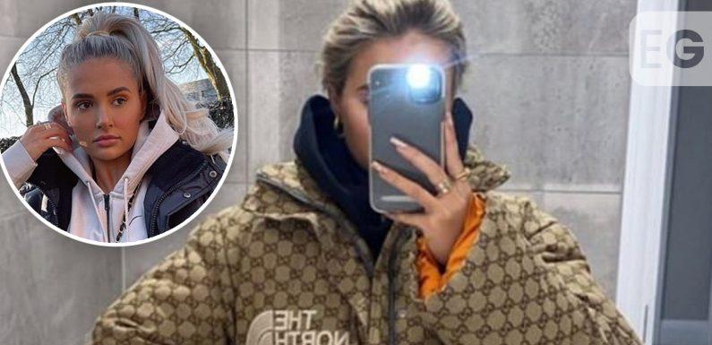 Molly-Mae Hague divides fans with 'chav chic' Gucci coat