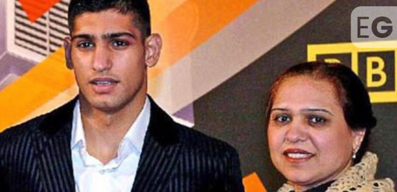 Amir Khan reveals mum's stage 4 cancer diagnosis