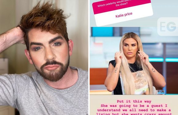 'Skincare king' slams Katie Price for 'crazy' podcast fees