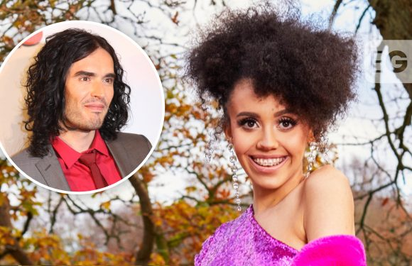The Cabins' Sofia reveals bizarre crush on Russell Brand