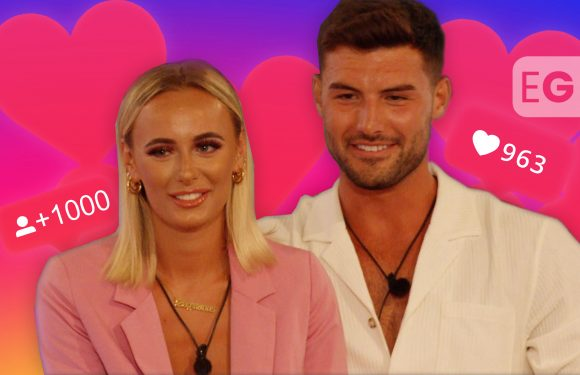 Which Love Island 2021 couple has the most followers?