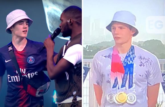 Fans convinced Olympian is Alex from Glastonbury