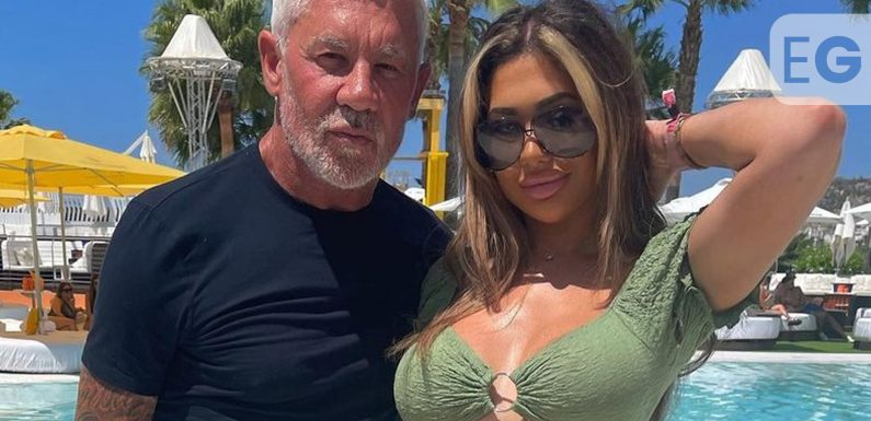 Chloe Ferry spends more time with Wayne Lineker in Ibiza