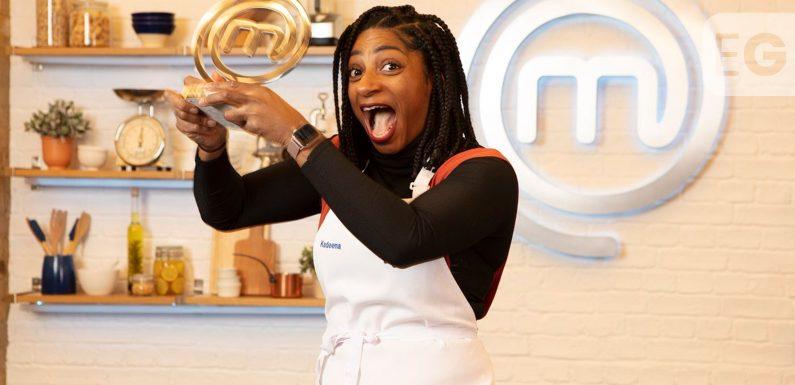 Kadeena Cox MBE crowned Celebrity Masterchef champion