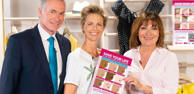 Lorraine Kelly set to climb 'Britain's biggest boob'