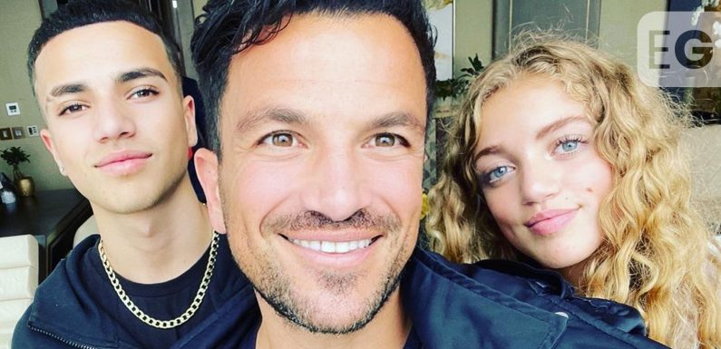 Peter Andre 'not so sure' with Princess on Love Island